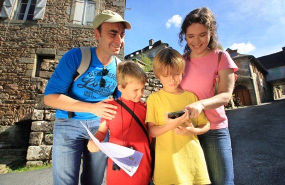 en famille à destination Jonzac Haute Saintonge Tourisme