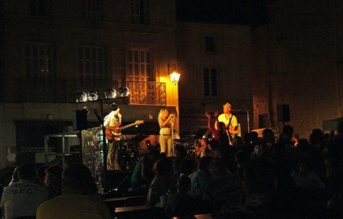 Marché nocturne Jonzac Haute-Saintonge