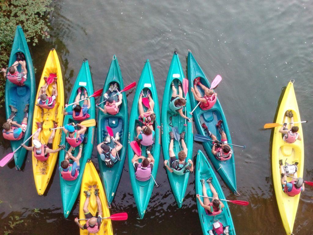 Parcours en canoe, Haute Saintonge