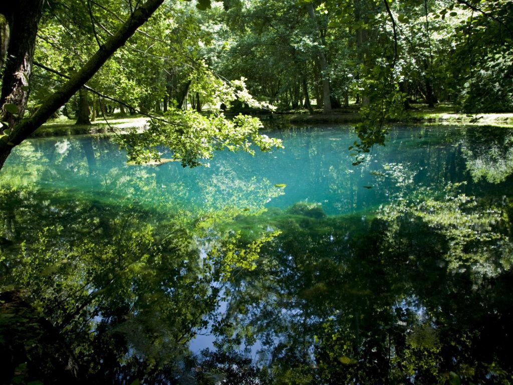 Fontaines bleues Haute Saintonge